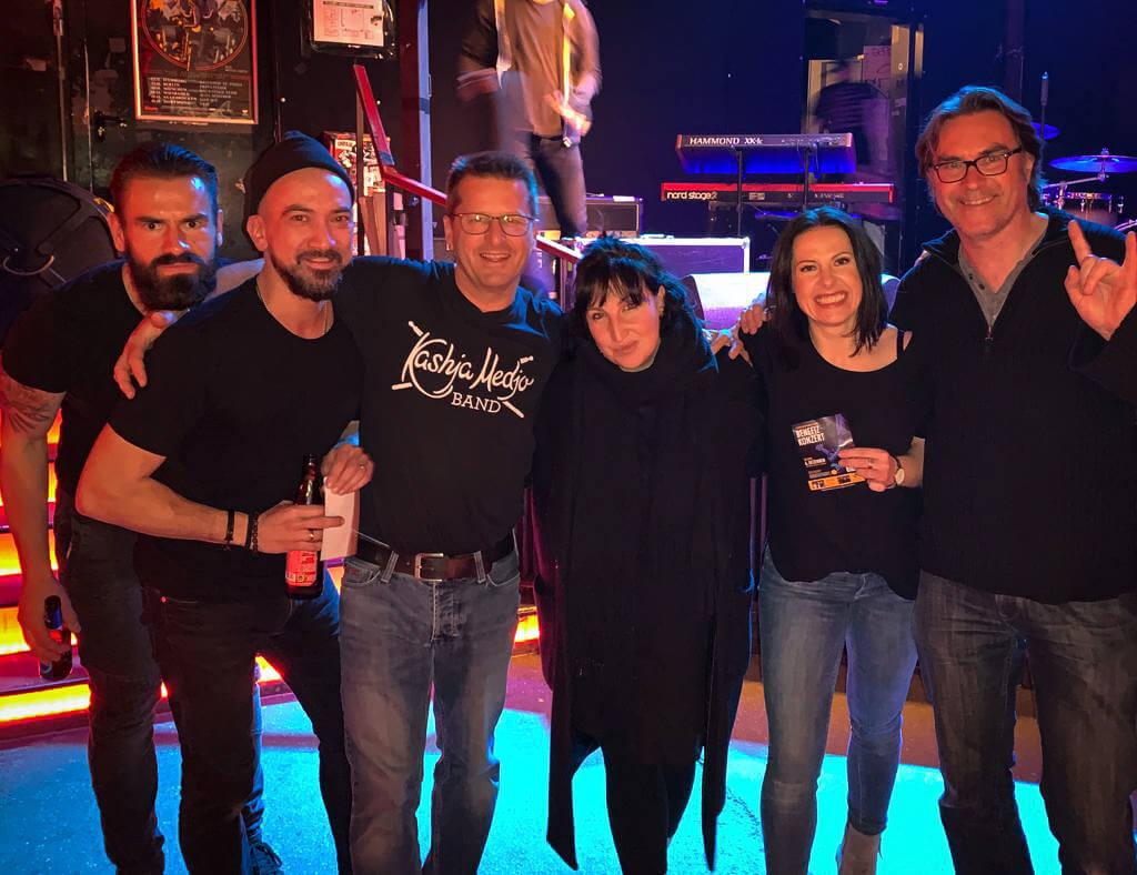 Kashja Backstage München Jessy Martens Band
