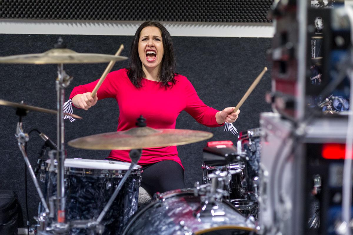 Kashja Drumming Drums